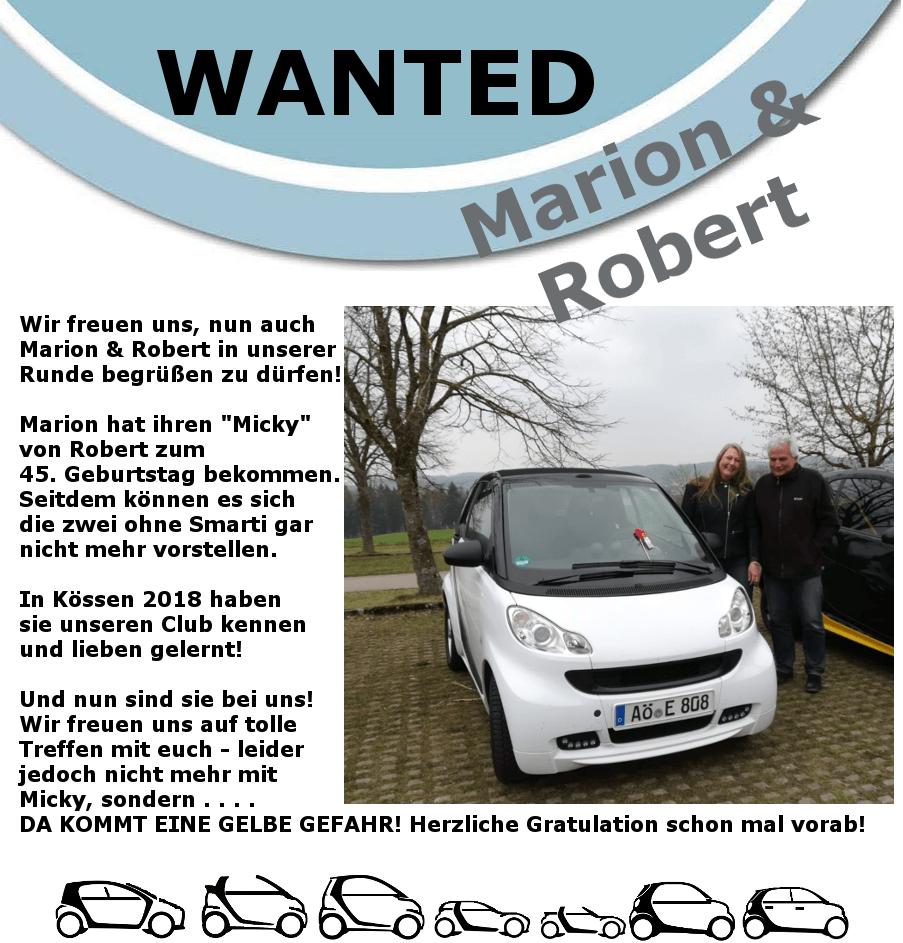 Marion & Robert